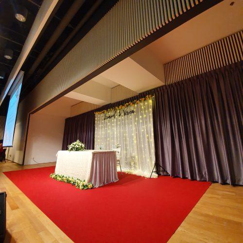 Wedding at Revival Church