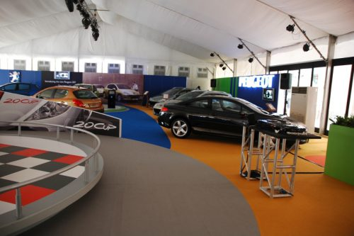 EXPOflor Gallery - Peugeot at Ngee An City 2007