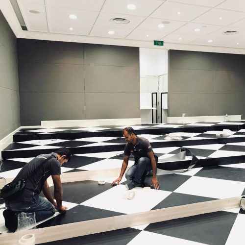 EXPOflor - Supply and install flooring for event and exhibition
