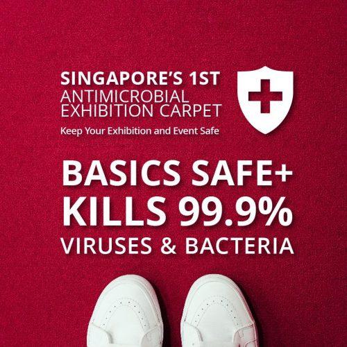 EXPOflor - Basics SAFE+ Antimicrobial Carpet